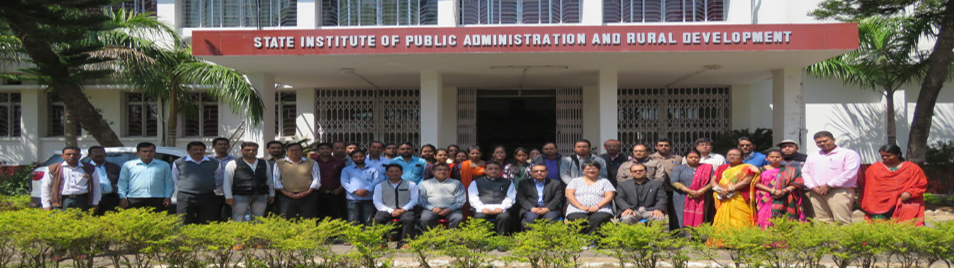 Group Photograph of Orientation Programme of Panchayat Secretaries.